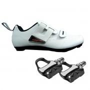 Sapatilha Triathlon Speed Absolute Triton 42 BR + Pedal R73H