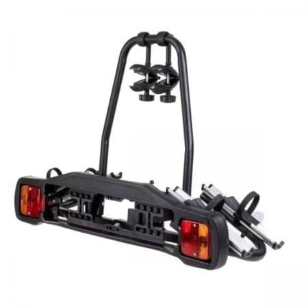 Suporte Transbike Rack 2 Bicicletas Com Sinalizador Engate