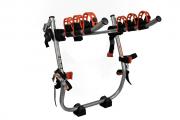 Suporte Transbike Triz P/ 3 Bikes Protetor Sedan Hatch Prata