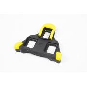 Taco Speed Compatível Shimano Tipo Sh11 Preto Amarelo Splint