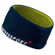 Testeira Compressport Faixa de Cabeça Larga V2 New Azul