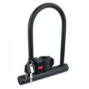 Trava U-lock Handyway Ul-802 Bl108 com Chave e Suporte