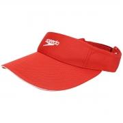 Viseira Boné Speedo Wave Para Esporte Corrida Vermelho Ambar