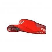 Viseira Compressport Ultralight Vermelho Lançamento