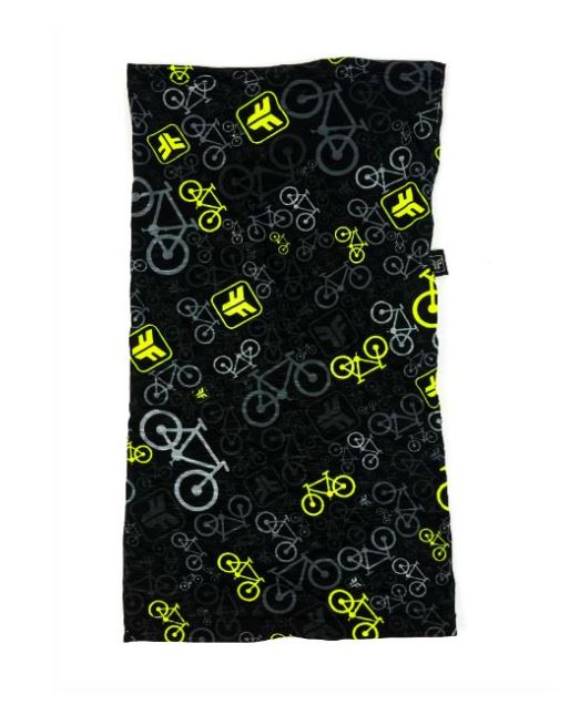 Bandana Free Force Bicycles Preto e Verde