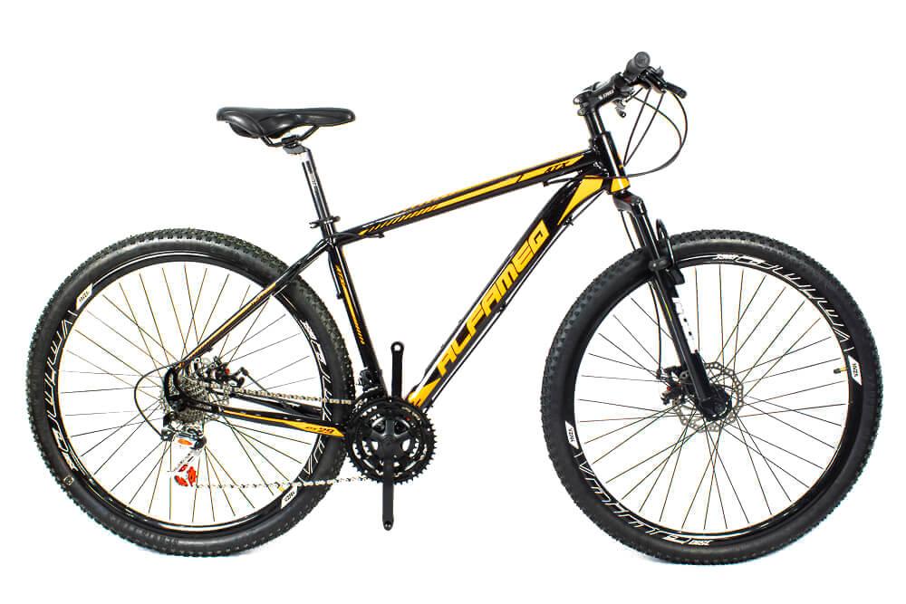 Bicicleta Aro 29 Alfameq 24v Suspensão Freio Disco Mecânico