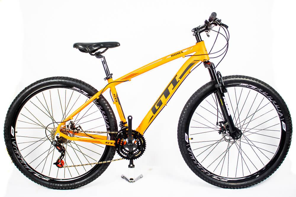 Bicicleta Aro 29 Gti 24v Freio Disco Mecânico Lr/Pr 2020