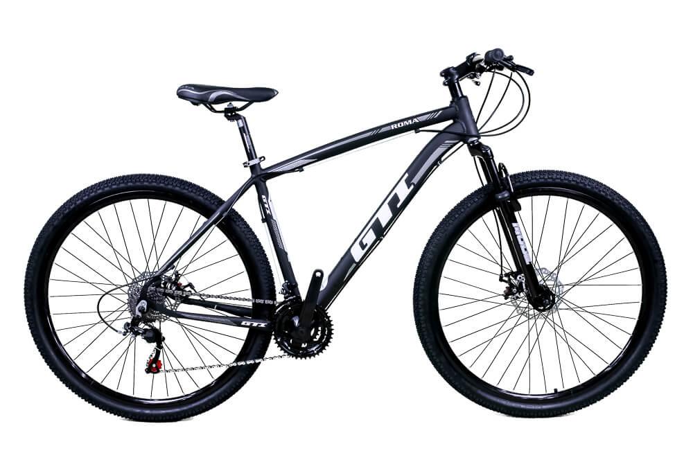 Bicicleta Aro 29 Gti 24v Freio Disco Mecânico Pr/Cz 2020