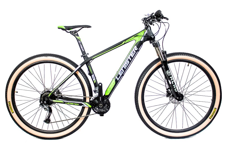 Bicicleta Aro 29 Mtb Carbono Lenister 27v Shimano Alívio