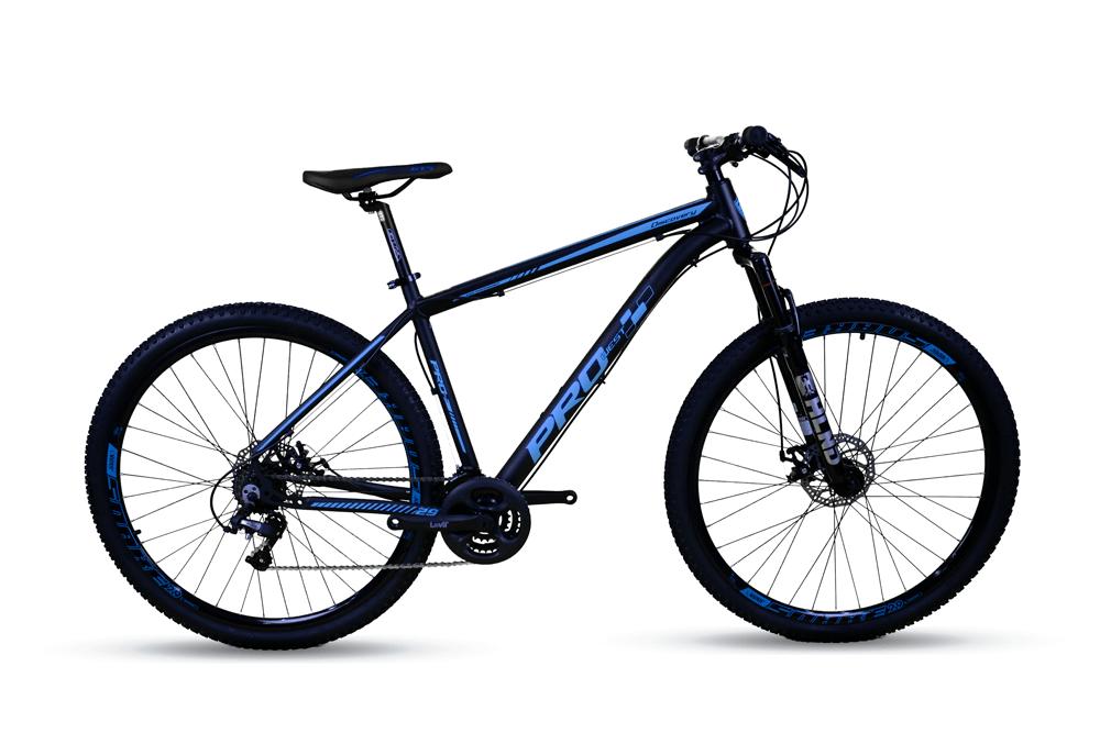 Bicicleta Aro 29 Prowest Megarange Freio Mec 24v Pto e Azul