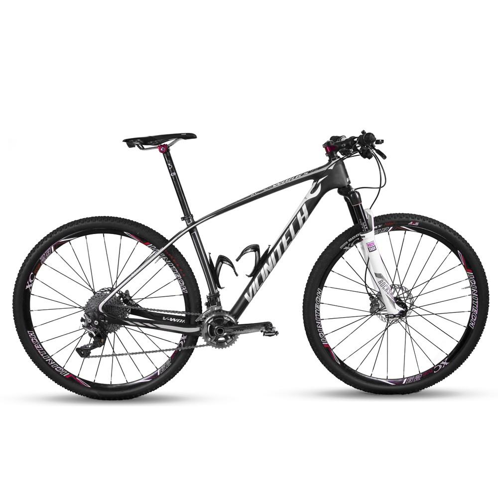 Bicicleta aro 29 Vicini Carbono MTB 17