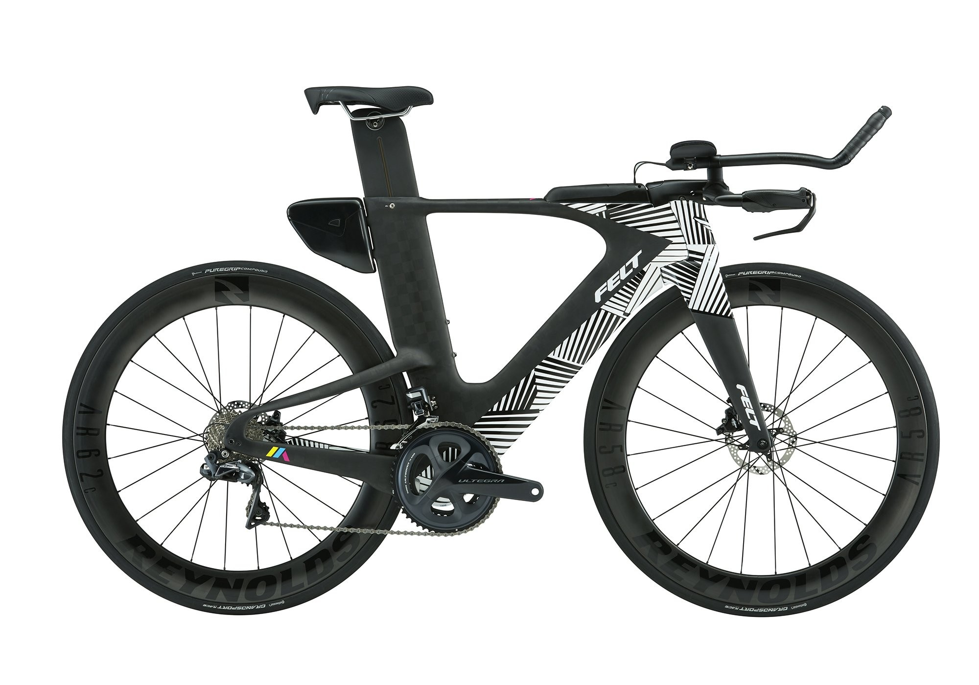 Bicicleta de Triathlon Carbono Felt IA Advanced Ultegra Di2
