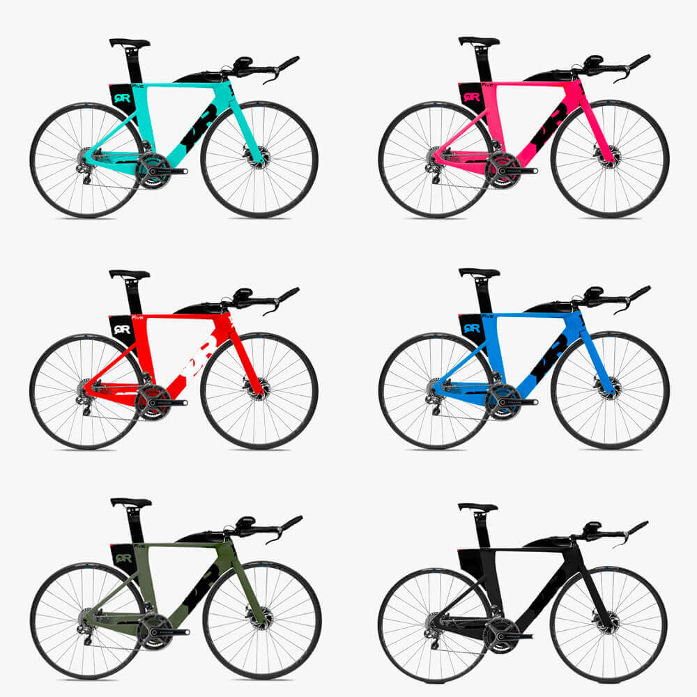 Bicicleta de Triathlon Quintana Roo PRFive Disc Ultegra