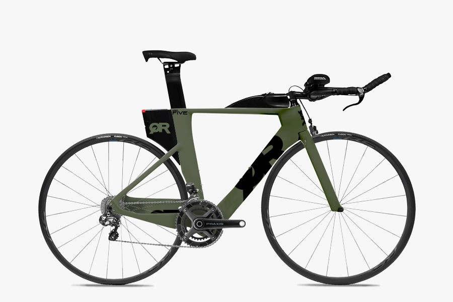 Bicicleta de Triathlon Quintana Roo PRFive Ultegra Di2