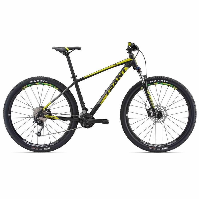 Bicicleta Mtb Aro 29 Giant 29Er2 Talon Shimano Deore Amarela