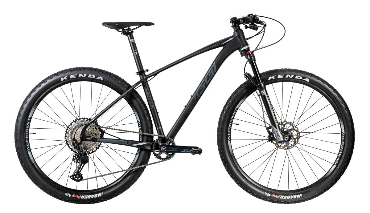 Bicicleta MTB Aro 29 Oggi Big Wheel 7.4 Preto e Prata 2020