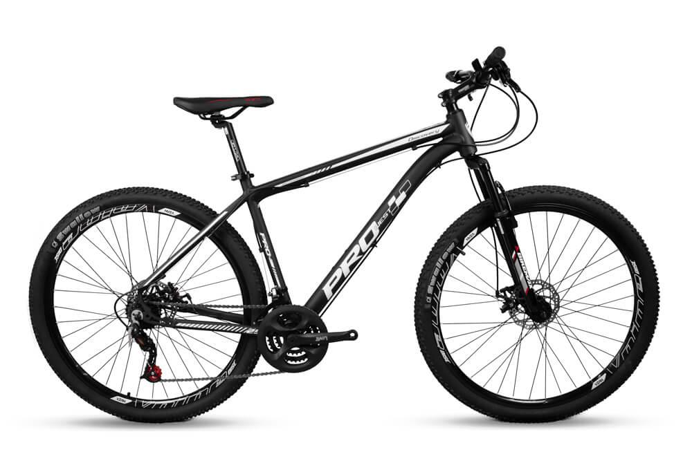 Bicicleta Mtb Aro 29 Prowest Freio Disc Mec 21v Preto Branco