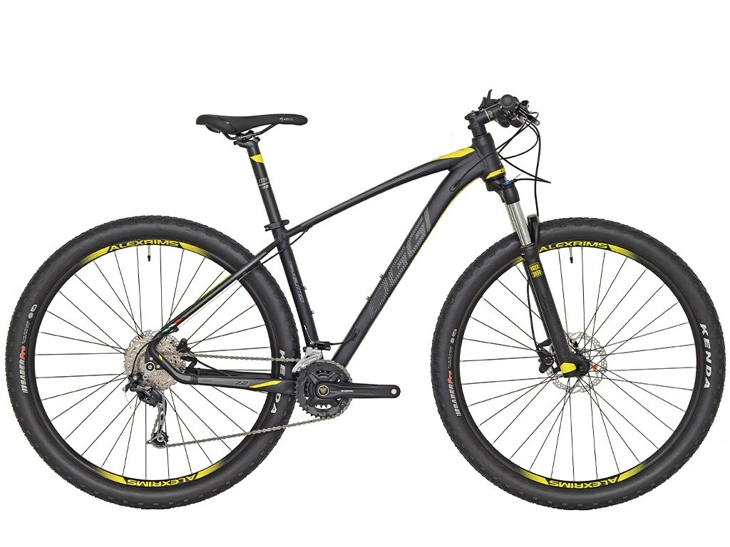 Bicicleta MTB Oggi Big Wheel 7.2 29 Preto/Am 17 Alivio 18v