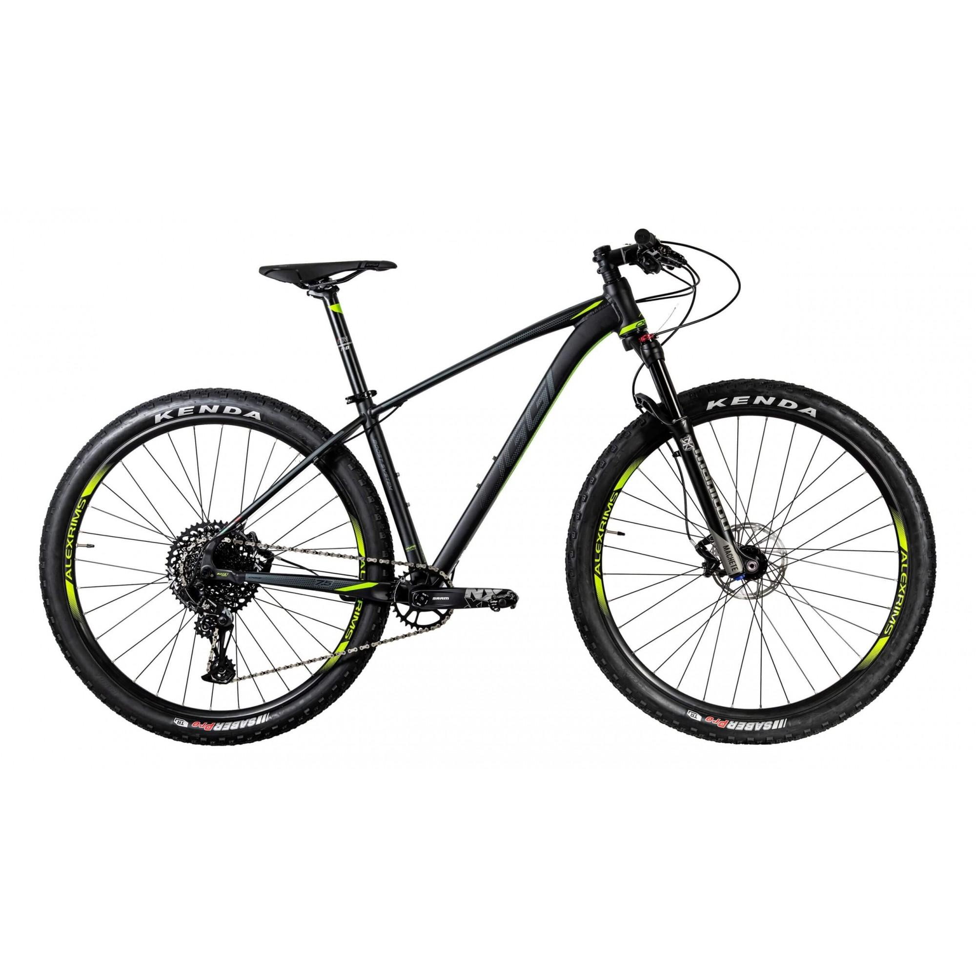 Bicicleta Oggi 29 Big Wheel 7.5 NX 12V Preto Verde Grafite