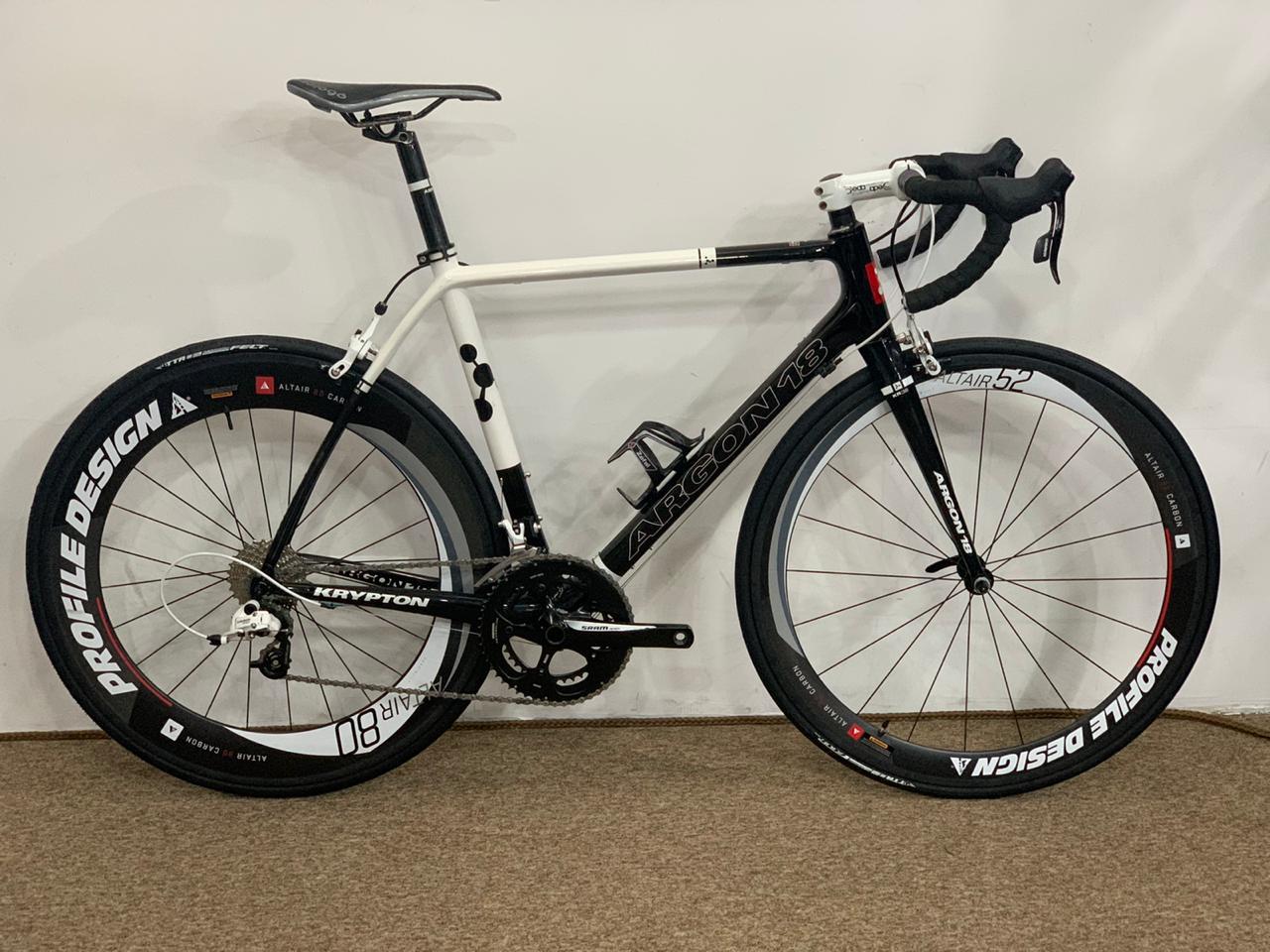 Bicicleta Speed Argon 18 Krypton 54 Sram Apex 10v