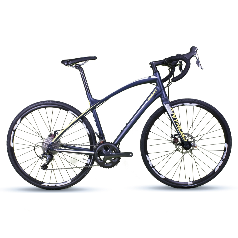 Bicicleta Speed Giant Anyroad 1 Azul Escuro Tamanho M