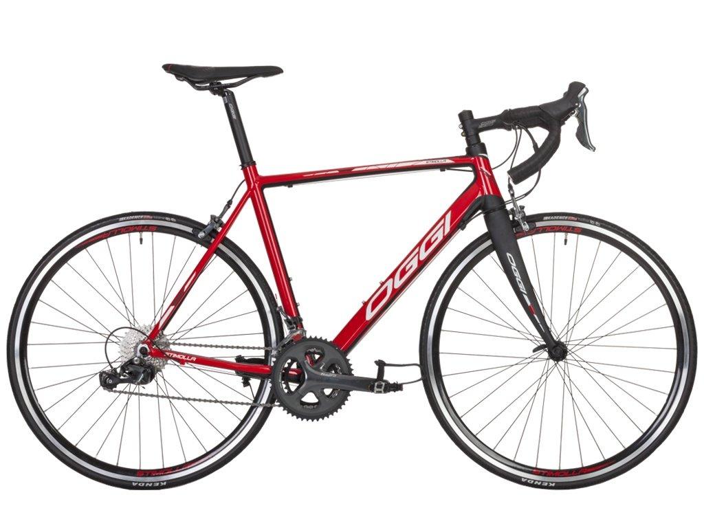 Bicicleta Speed Oggi Stimolla Vermelho e Preto