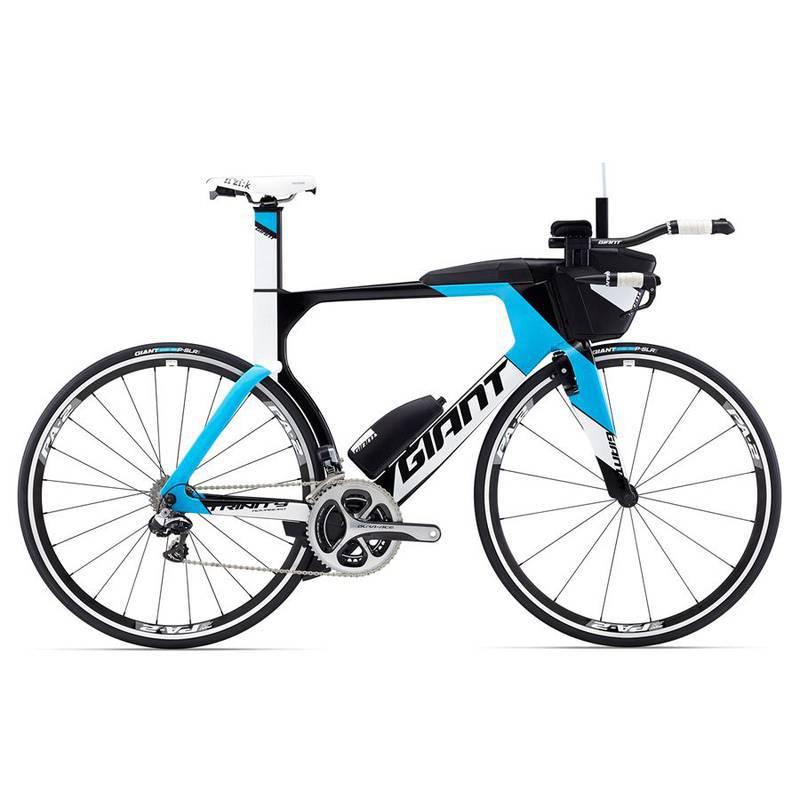 Bicicleta Triathlon Giant Trinity Advanced  Pro Dura-ace Di2