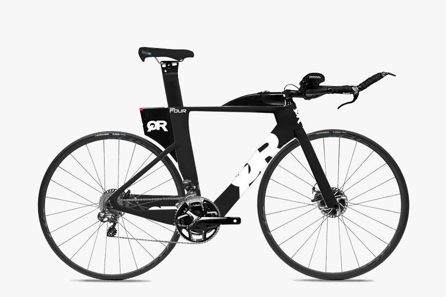 Bicicleta Triathlon Quintana Roo PRFour Disc 105 White