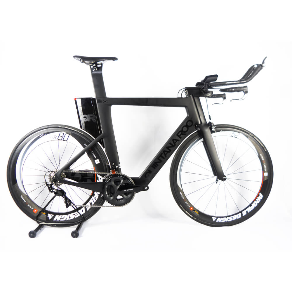 Bicicleta Triathlon Quintana Roo Prsix  58,5 + Roda Carbono