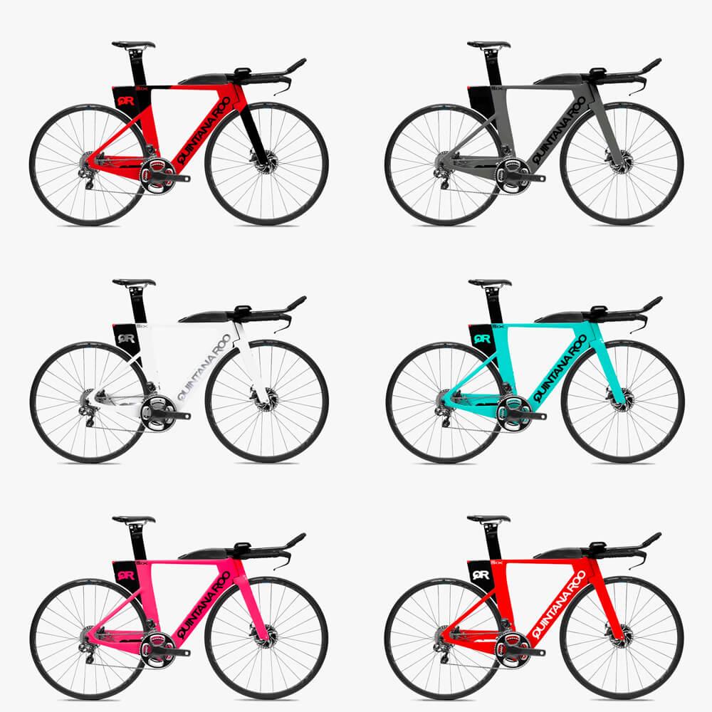 Bicicleta Triathlon Quintana Roo Prsix Disc Dura Ace Di2