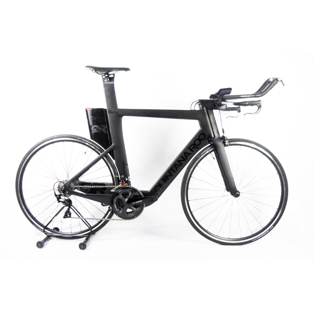 Bicicleta Triathlon Quintana Roo Prsix Preta 58,5