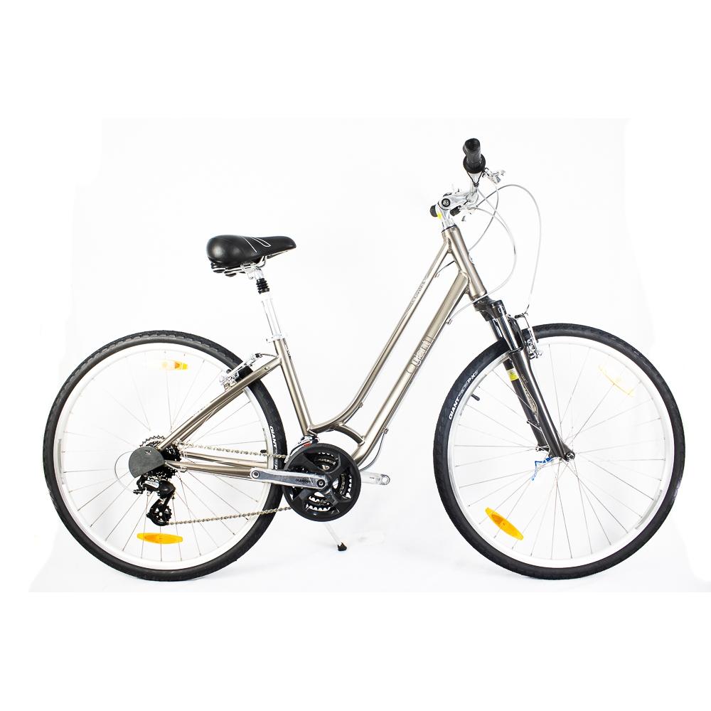 Bicicleta Urbana Retrô Giant Cypress Dx W Marrom e Cinza 16