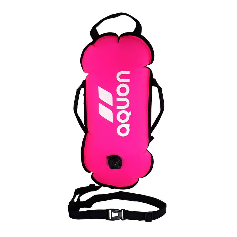 Boia de Sinalização Aquon Swin Buoy Aguas Abertas Pink 20l