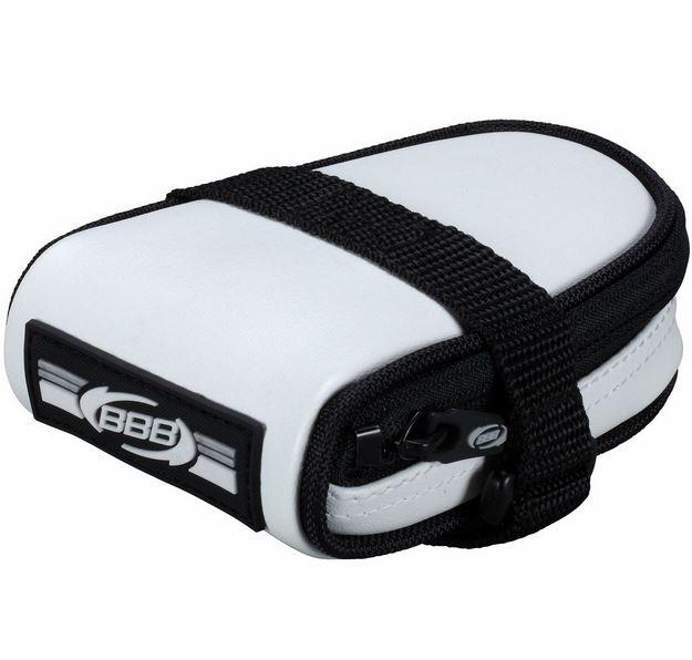 Bolsa Selim Racepack Branco Fosco Bsb-14