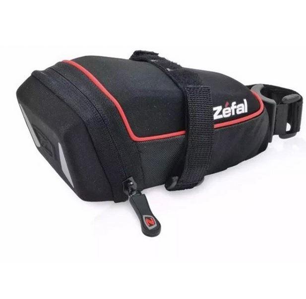 Bolsa Selim Zéfal Iron Pack M-Ds Para Quadro de Bicicleta