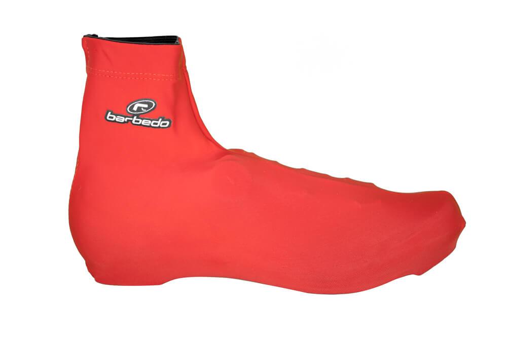Botinha Para Sapatilha de Ciclismo Barbedo Lycra Vermelha