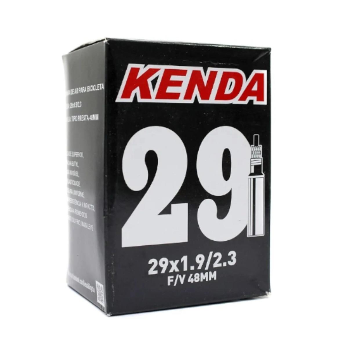 Câmara de Ar Kenda MTB 29 x 1.9 - 2.3 Válvula Presta 48mm