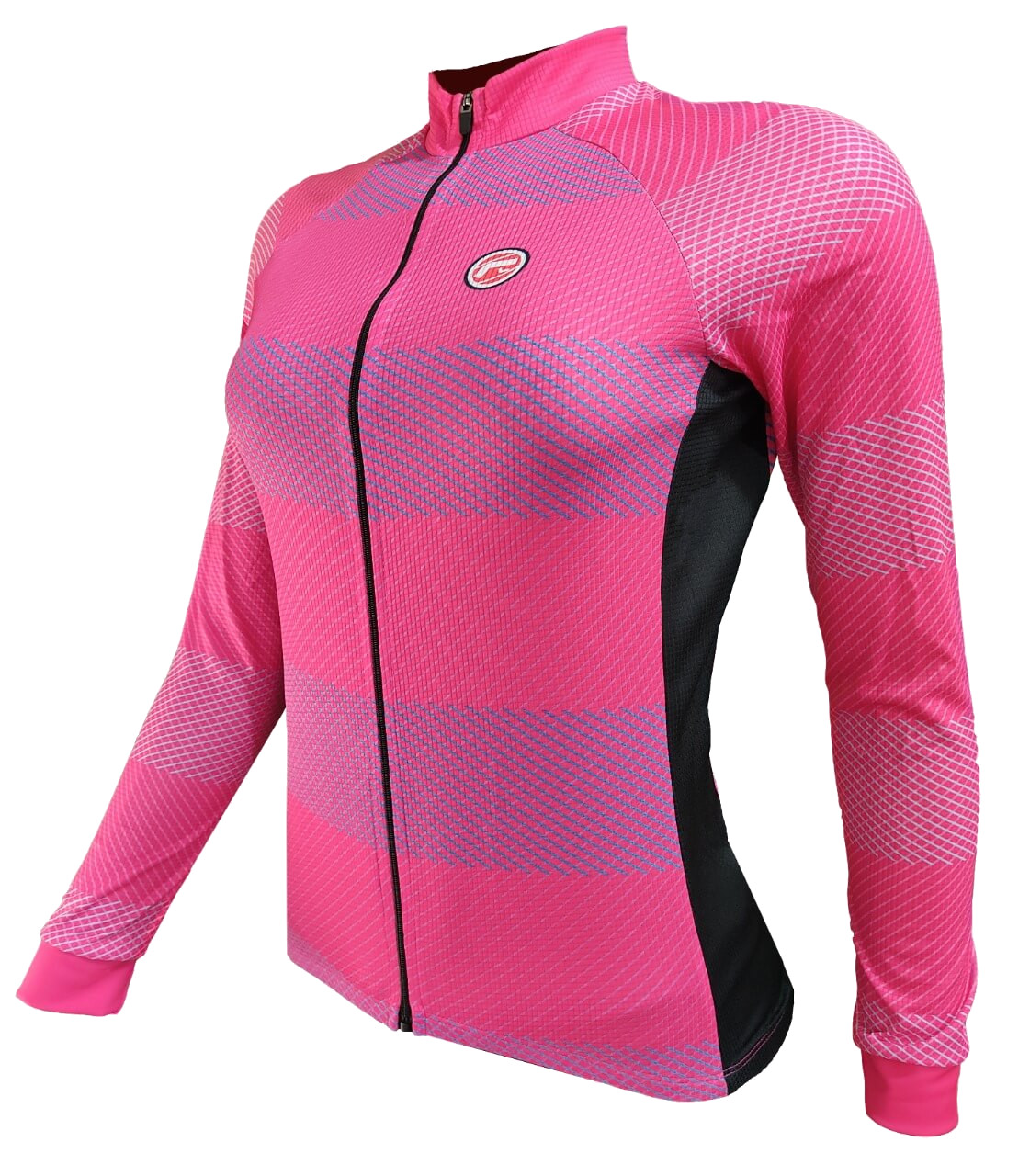 Camisa Ciclismo Barbedo Feminina Moselle Rosa
