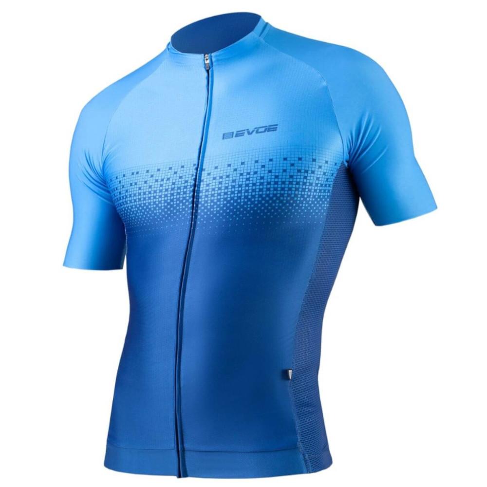 Camisa Ciclismo Evoe Masculina Evolution Cielo Bolso Zíper