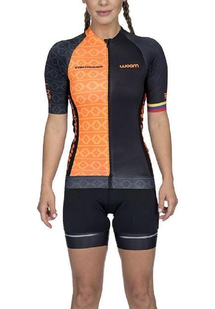 Camisa Ciclismo Feminino Woom Supreme Cartagena 2020