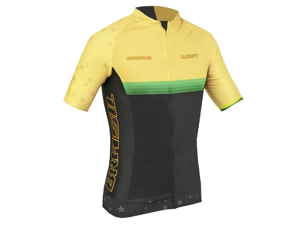 Camisa Ciclismo Masculino Woom Supreme Brasil 2020