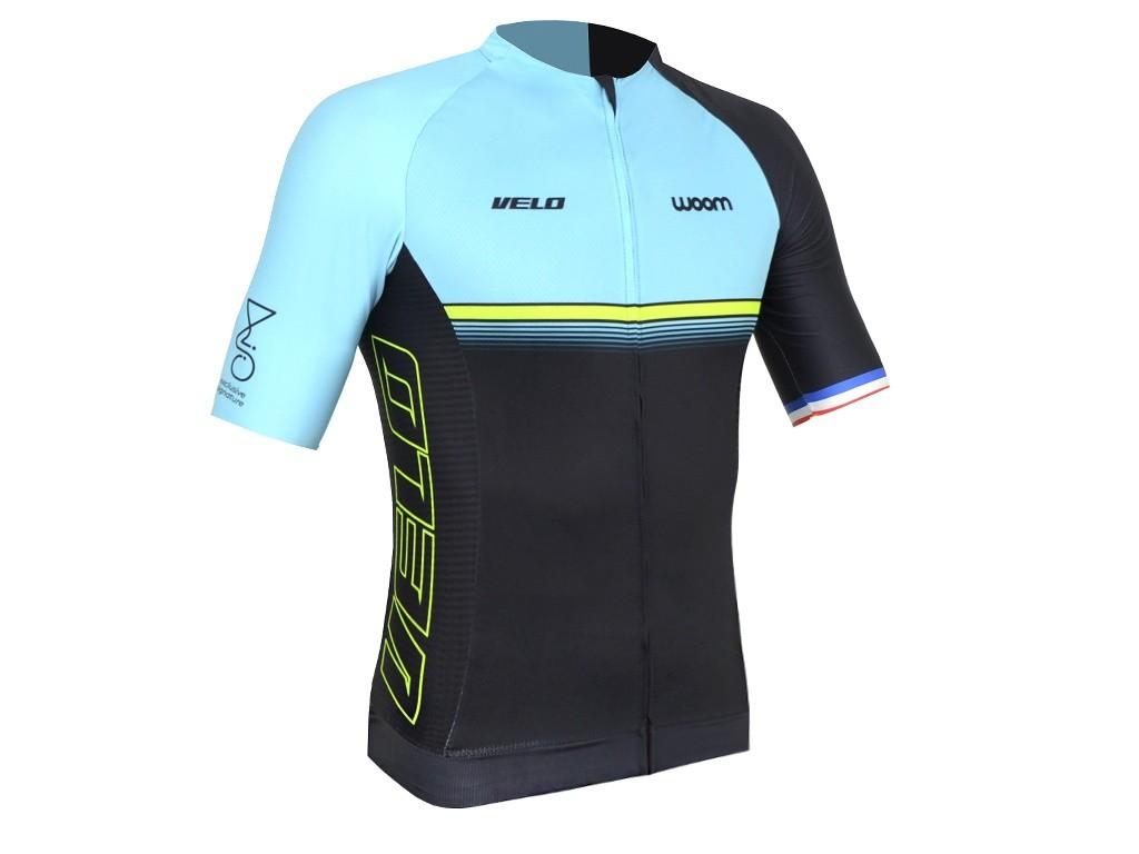 Camisa Ciclismo Masculino Woom Supreme Velo 2020