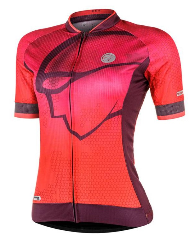 Camisa Ciclismo Mauro Ribeiro Feminina Sea Rosa