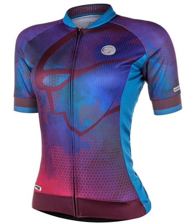 Camisa Ciclismo Mauro Ribeiro Feminina Sea Verde