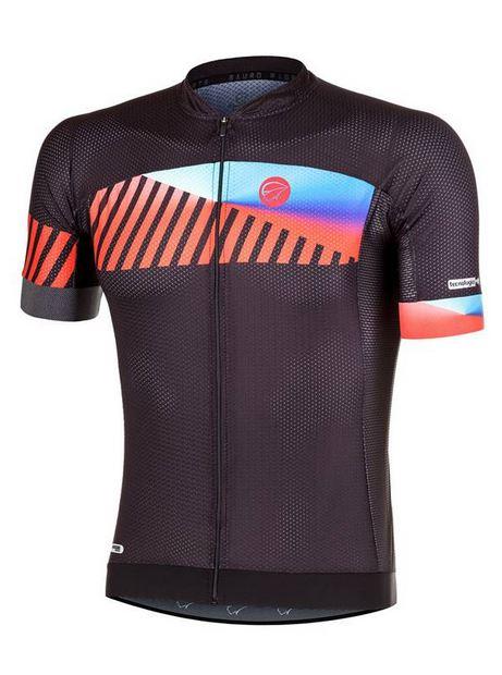 Camisa ciclismo Mauro Ribeiro Masculina Color Preto