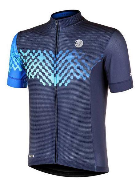 Camisa Ciclismo Mauro Ribeiro Masculina Even Azul
