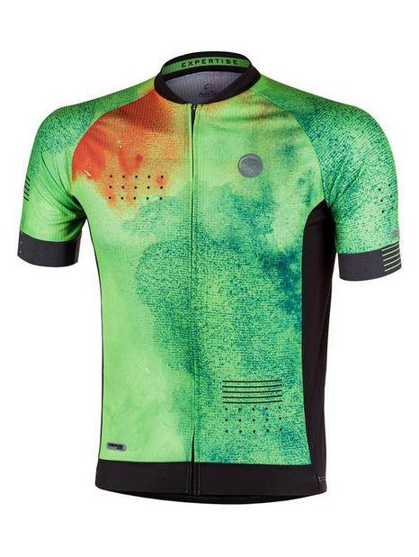 Camisa ciclismo Mauro Ribeiro Masculina Expertise Verde