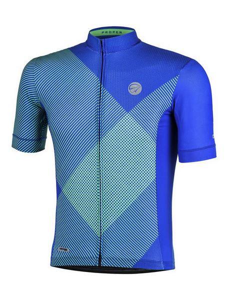 Camisa ciclismo Mauro Ribeiro Masculina Proper Azul