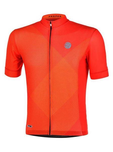 Camisa ciclismo Mauro Ribeiro Masculina Proper Vermelha