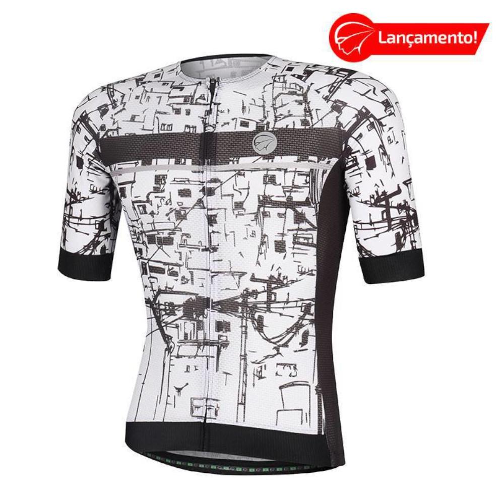 Camisa Ciclismo Mauro Ribeiro Masculina Union Branca